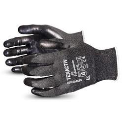 Superior Glove Tenactiv Level-5 Cut-Resistant Black 5 Ref SUS18TAFGFN05