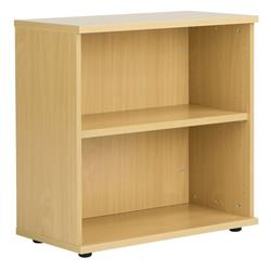 Octet Plus 800mm Bookcase with 1 Shelf - Nova Oak - ZFPBC800NOAK