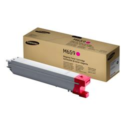 Samsung CLT-M659S Magenta Toner Cartridge (Yield 20,000 Pages) for CLX-8640ND/CLX-8650ND Laser Printers