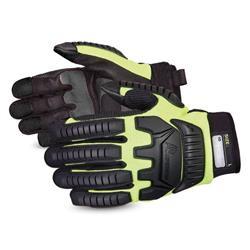 Superior Glove Clutch Gear Impact Protection Mechanics Yellow 2XL Ref SUMXVSBXXL
