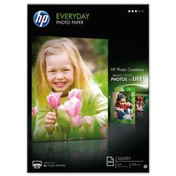 HP A4 200gsm Everyday Glossy Photo Paper Ref Q2510A - 100 Sheets
