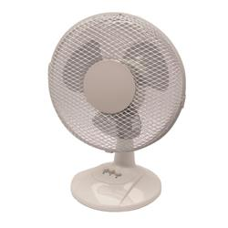 Q-Connect 2-Speed 230mm/9 Inch Desktop Fan KF00402