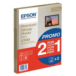 Epson Premium Glossy A4 Photo Paper 2-for-1 (15 + 15 Free Pack) C13S042169