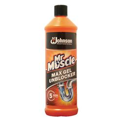 Mr Muscle Max Gel Unblocker 1 Litre 685732