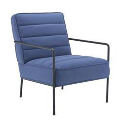 Jade Reception Chair - Navy Ref OF0704NA