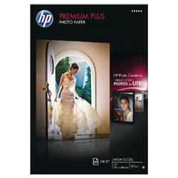 HP White A3 Premium Plus Glossy Photo Paper (20 Pack) CR675A