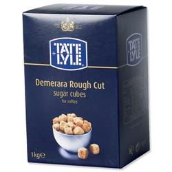Tate and Lyle Demerara Sugar Cubes 1Kg Ref A03903