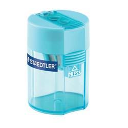 Temperamatite con contenitore Staedtler Noris a 2 fori