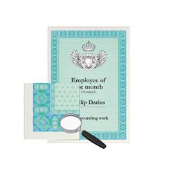 Decadry Certificate A4 Paper 115gsm Turquoise/Blue (70 Pack) DSD1052