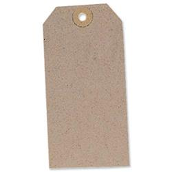 Tag Label Unstrung 120x60mm Buff (Pack 1000)