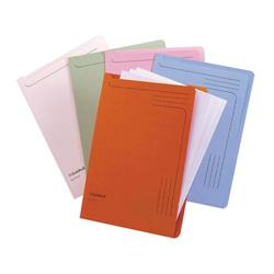 Guildhall Slip Files A4 Assorted Blue/Pink/Cream/Green/Orange Ref 14600 [Pack 50]