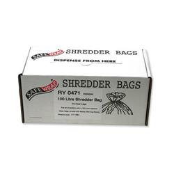 Robinson Young Safewrap Shredder Bags 100 Litre Ref RY0471 - Pack 50