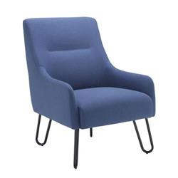 Pearl Reception Chair - Navy Ref OF0705NA