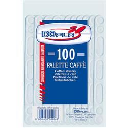 Palette caffè DOpla - trasparente - conf. 100