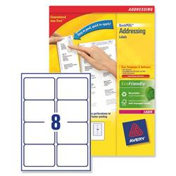 Avery L7165 BlockOut Shipping Labels 99.1x67.7mm Ref L7165-40 - Pack 320