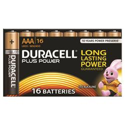 Duracell Plus AAA Battery (16 Pack)