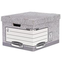 Fellowes Bankers Box Heavy Duty Large Storage Box Ref 181201 Pack 10
