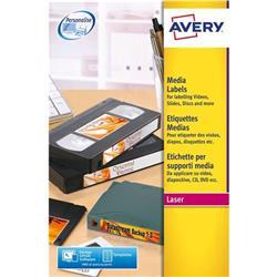 Avery L7674 Video Spine Laser Label Ref L7674 - Pack 400