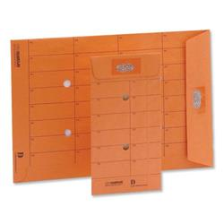 New Guardian Intertac Internal Mail Envelopes Pocket Resealable Manilla Orange C5 - Pack 500