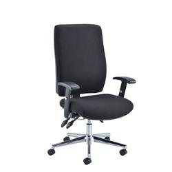 Caracal Call Centre Chair - Black Ref CH0906BK