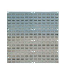 Barton Tp6 Wall Mountable Louvered Panel 36 inch Grey 010106
