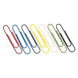 Paperclips Coloured 32mm (1000 Pack) 30601