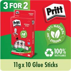Pritt Stick Hanging Box 11g 3 For 2 (Pack of 10) HK810868