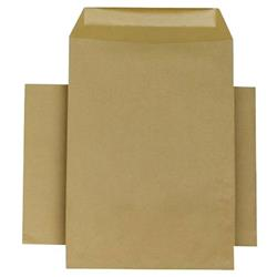 Q-Connect Envelope 254x178mm Pocket Self Seal 90gsm Manilla (Pack of 250) Ref KF3445