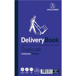 Challenge Duplicate Book Carbonless Delivery Note 100 Sets 210x130mm Ref 100080470 - Pack 5