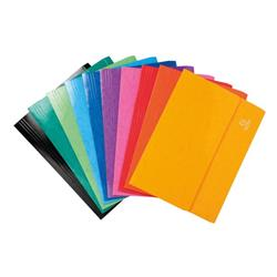 Iderama Document Wallets Assorted Foolscap Ref 6500Z Pack 25