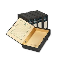 Rexel Classic Box File with Lock Spring A4 Plain Ref 30145EAST - Pack 5
