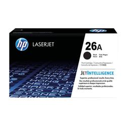 HP 26A Black Laserjet Toner Cartridge CF226A