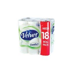Velvet Comfort Toilet Roll (18 Pack) KSCATV18