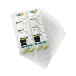 Durable Visifix Refill Set for A4 Business Card Album Capacity 200 57x90mm Cards Ref 2388/36