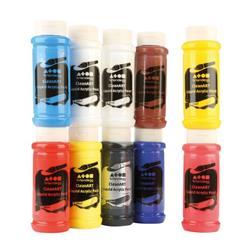 Brian Clegg CleanART Liquid Acrylic Paint 500ml Assorted (10 Pack) AK0850010