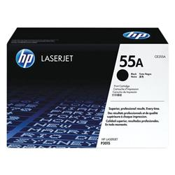 HP 55A Black Laserjet Toner Cartridge CE255A