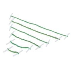 Q-Connect Metal Treasury Tag Green 152mm (Pack of 100) Ref KF04585
