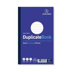 Challenge Duplicate Book Carbonless Ruled 100 Sets 210x130mm Ref 100080458 - Pack 5