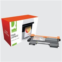 Q-Connect Compatible Solution Brother Black Toner Cartridge High Capacity TN2220