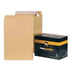 New Guardian Envelopes Heavyweight Board Backed Peel and Seal Manilla C3 - Pack 50