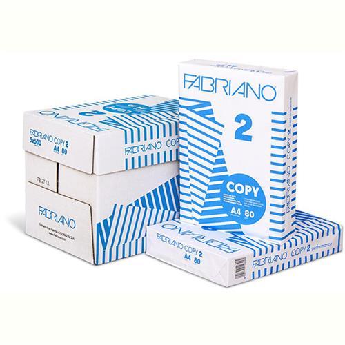Risma A4 Fabriano Copy 3 da 500 Fogli 80 g//mq Carta per Fotocopiatrice Stampante