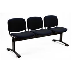 Panca attesa Dado Unisit 3 posti + tavolino - polipropilene - verde - D53PT/EV