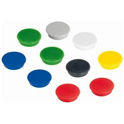 Franken Tacking Magnets Size 38mm Adhesive Force 1500g Various Colours 10 Pieces Ref HM38 99