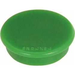 Franken Tacking Magnets Size 13mm Adhesive Force 100g Green 10 Pieces Ref HM10 02