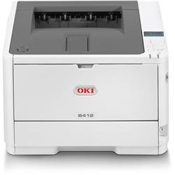 OKI B412DN A4 Mono Printer Ref 45858301