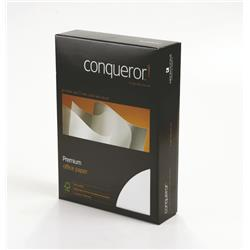 Conqueror Paper Smooth/Satin Wove Diamond White FSC4 A4 100Gm2 Watermarked Ref 26661 [Pack 500]