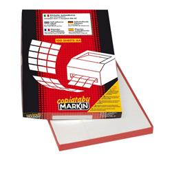 Etichette adesive Markin - 105x99 mm - Nr. etichette / foglio 6 - X210C540