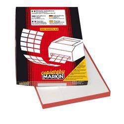 Etichette adesive Markin - 70x25 mm - Nr. etichette / foglio 36 - X210C506