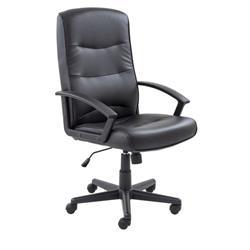 Canasta II PU Chair - Black Ref CH0768