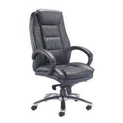 Montana Executive Leather Chair - Black Ref CH0240BK